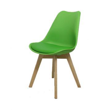 interiordirect.nl - eetkamerstoel Woody zonder arm modern