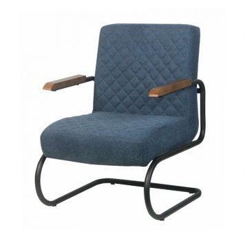 interiordirect.nl - nigel fauteuil blauw